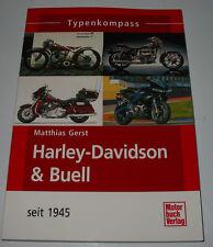 Typen Kompass Harley Davidson & Buell seit 1945 Matthias Gerst Typenkompass NEU!
