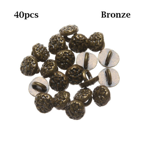 Mini Buttons DIY Puppen Kleidung Schnabel für Nähnähte Metallschnallen