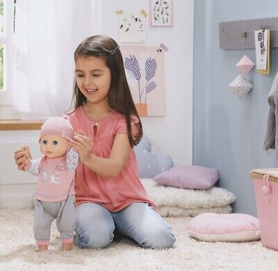 Baby Annabell Learn to Walk Crawl Doll BNIB 700136 Grift ...
