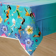 TINKER BELL TINKERBELL FAIRIES FRIENDS BIRTHDAY PARTY SUPPLIES TABLECLOTH COVER