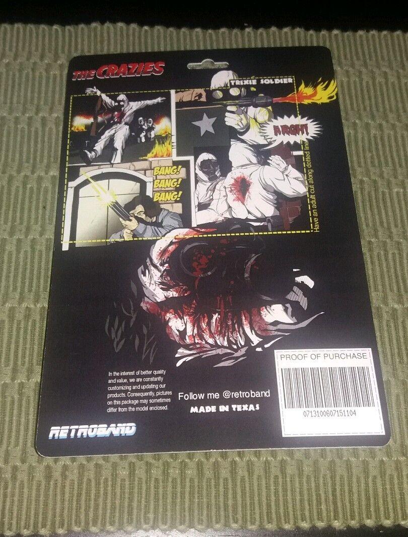 The Crazies Figure Toy Retroband Retroband Retroband MOC Resin Rare Horror 263953