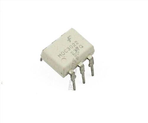 5 Stücke MOC3022 Transistor Ausgang Fairchild DIP-6 Optoisolator New Ic vx