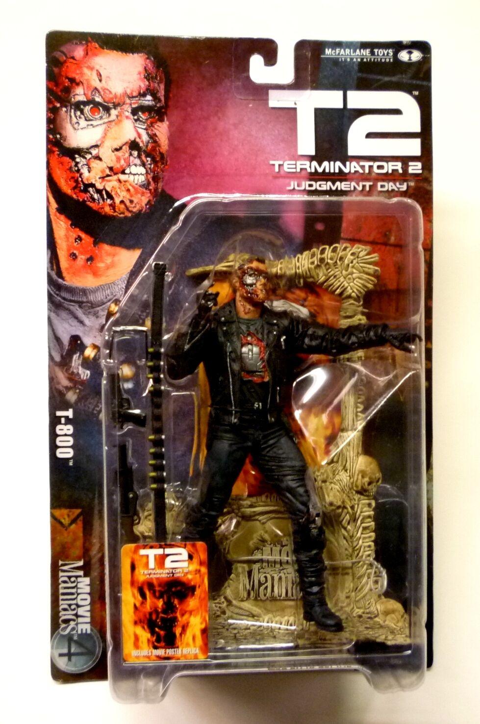 McFarlane  Toys T-800 TERMINATOR Movie Maniacs Series 4 action figure Neuf 2001  jusqu'à 60% de réduction