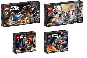 LEGO - Star Wars Microfighter Serie 5 Completa - 75193 75194 75195 75196 - Nuovo