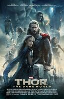 Thor Movie Poster : Chris Hensworth Poster, Tom Hiddleston Poster (dw2)