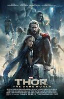 Thor Movie Poster : Chris Hensworth Poster, Tom Hiddleston Poster (dw2)