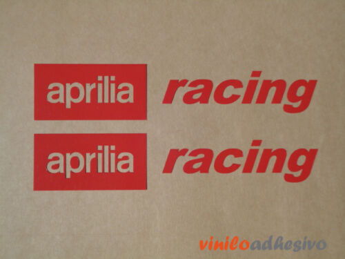 PEGATINA STICKER VINILO Aprilia racing autocollant aufkleber