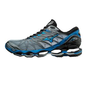 Mizuno Wave Prophecy 7 Men Running Zapatos entrenador J1GC180024 Azul Negro Nuevo 18U