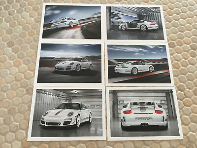 PORSCHE 911 997 GT3 RS PRIVATE PREVIEW VIP INVITATION BROCHURE LOS ANGELES 2009.