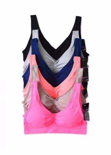 Womens Crop Bustier Sports Bra Fashion Tank Top Sleeveless Tops Fitness Yoga Gym