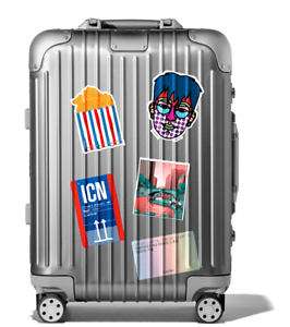 RIMOWA Seoul City Sticker Set Collection - EXCLUSIVE, Brand New