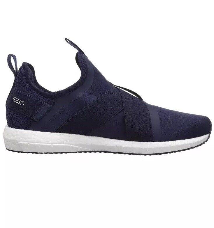 Puma Mega Nrgy Nrgy Mega X hommes bleu Textile Athletic Running Chaussures 8fff7d