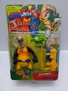 Vintage-Earthworm-Jim-1995-Psycrow-Item-8607-See-Pictures-Factory-Sealed