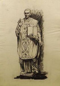 """Art """" Ignatzius """"blei/federzeichnungen/transparentpapier Von Hubert Wedekind"""