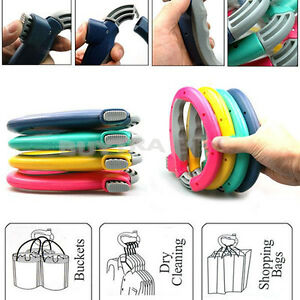 Easy-Way-One-Trip-Grip-Shopping-Grocery-Bag-Holder-Handle-Carrier-Lock-LaborH-XG