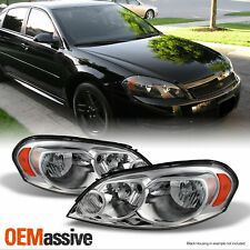 Fit 06 13 Chevy Impala Monte Carlo Headlights Light Lr 2006 2013 Replacement Fits 2006 Impala