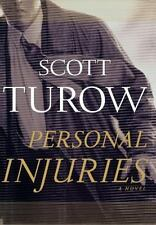 Personal Injuries by Scott Turow (1999, Hardcover)