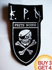 PESTE NOIRE BACK PATCH BUY3GET4,VLAD TEPES,ALCEST,MUTIILATION,FRENCH BLACK METAL