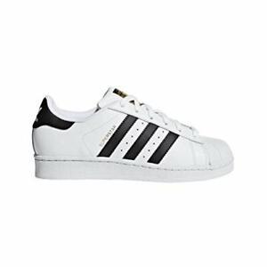 adidas-Originals-Kids-039-Superstar-White-Black-White-5-5-M-US-Big-Kid