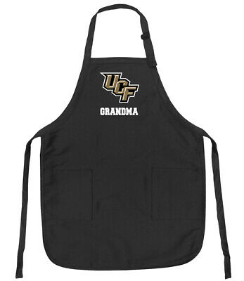 Broad Bay Pink University of Central Florida Grandma Apron Deluxe UCF Grandma Aprons Made in The USA