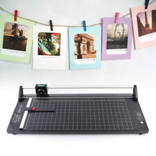 24 Inch Manual Rotary Paper Cutter Trimmer Wide Format With 1 Spare Blade Ampruler