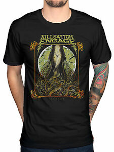 Killswitch-Engage-Lady-And-The-Snake-Incarnate-Men-039-s-T-Shirt-Black
