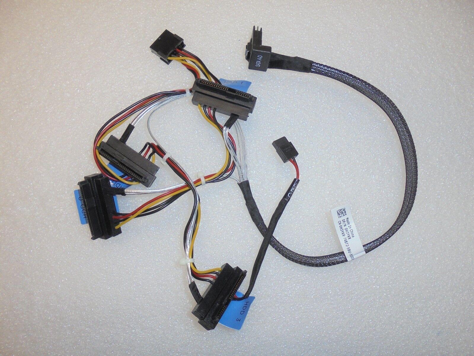 DELL MINI SAS SFF-8087 TO X4 SAS SATA CABLE FOR DELL POWEREDGE R320 R420 XP00F