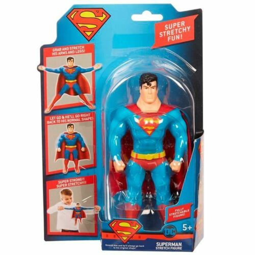 "Stretch Armstrong ~ Mini Justice League-Superman 7/"" Stretch Figure"