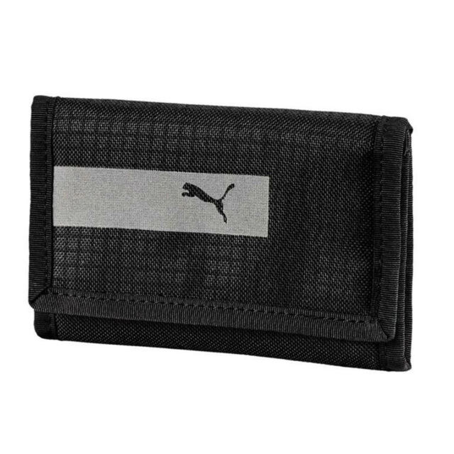 5917418806 PUMA Vibe Sports ZIPPED Wallet Money Purse Black for sale online | eBay
