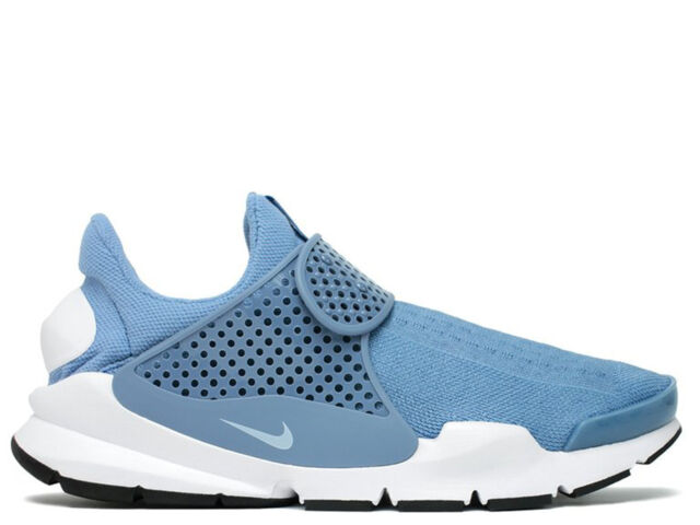 save off 65fb2 034d4 Mens Nike Sock Dart KJCRD Work Blue White Black 819686-403 US 8