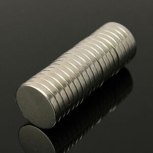 Lot 10 25 50 20x3mm 13/16 x 1/8 inch N52 Strong Disc Rare Earth Neodymium Magnet