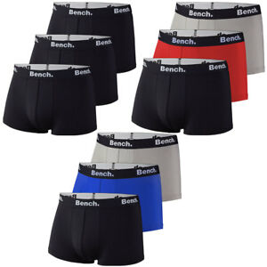 6ac5a390e5 Das Bild wird geladen Bench-3er-Pack-Herren-Hipster-Boxershorts-short-Boxer-