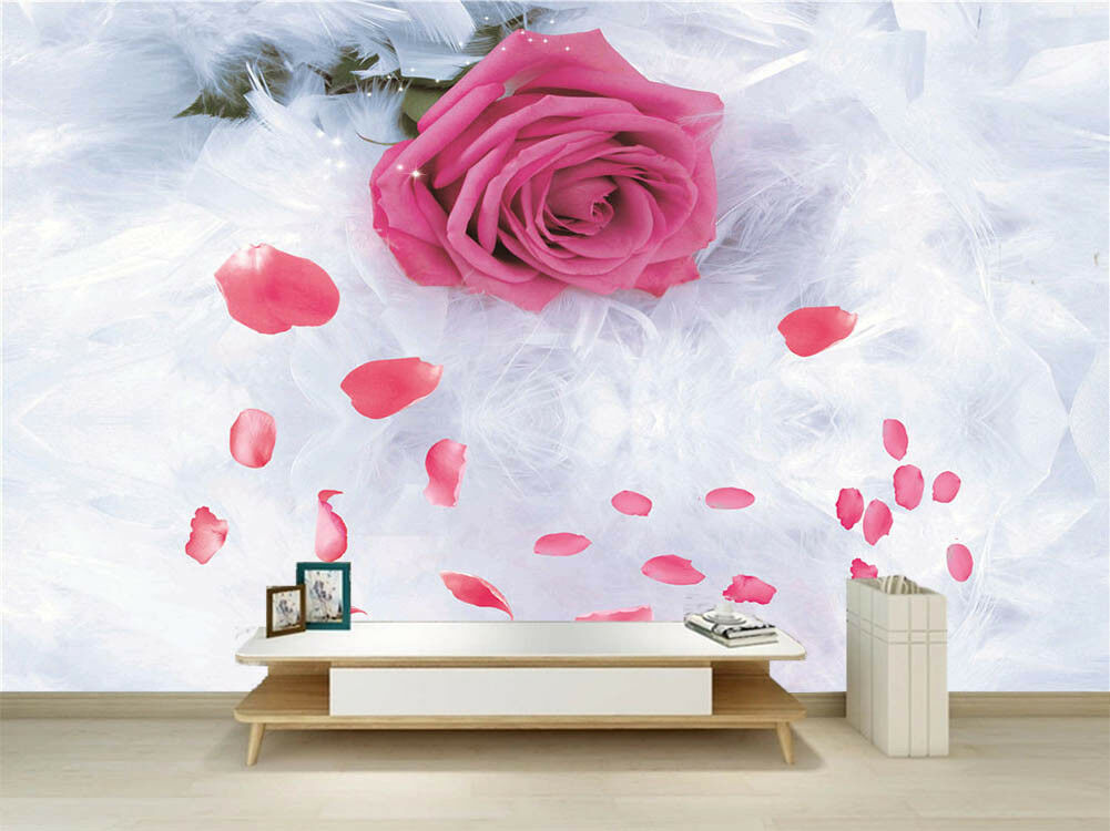 Pleased Pulpy Petal 3D Full Wall Mural Photo Wallpaper Printing Home Kids Decor