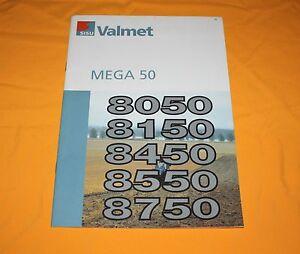 Valmet-Mega-50-1997-Traktor-Prospekt-Tractor-Brochure-Catalog-Depliant
