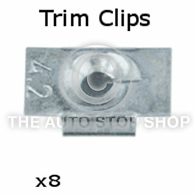 Panel Clips Trim Clips 10,9MM Renault Trafic//Twingo//Wind//Zoe etc 12PK 1234re