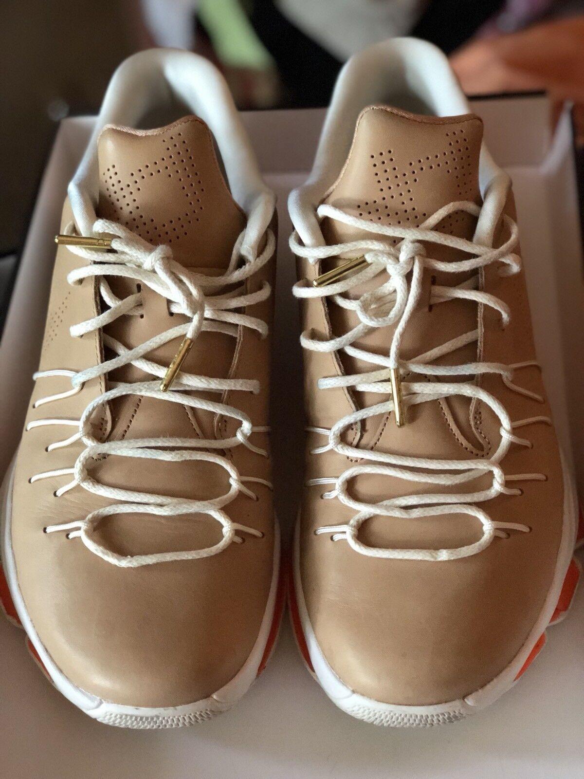 Nike KD 8 EXT Vachetta Tan mens size 10 worn one time