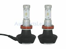 H11 160W 16000LM PHILIPS LED Headlight Kit Low Beam Bulbs 6000K White High Power