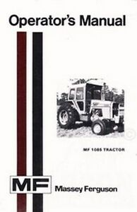 massey ferguson 1105 service manual