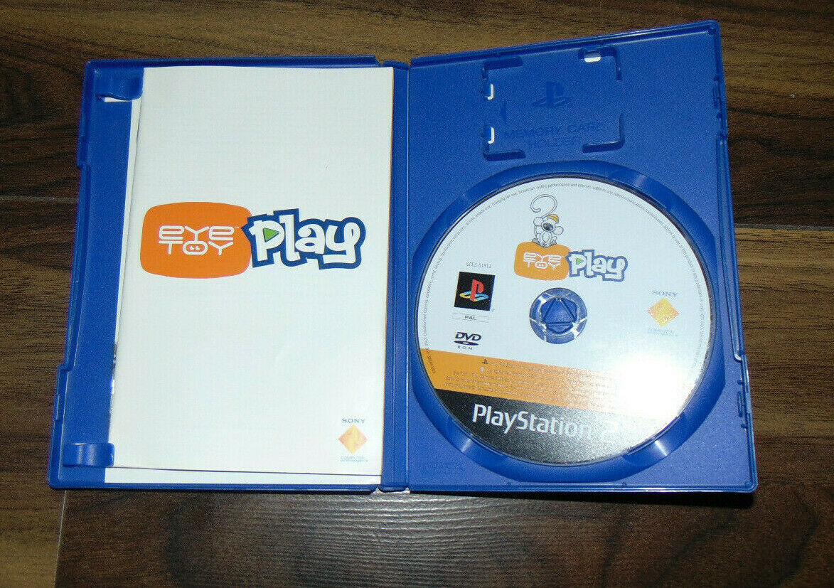 Sony Official PS2 Eye Toy Play with Camera Playstation Two