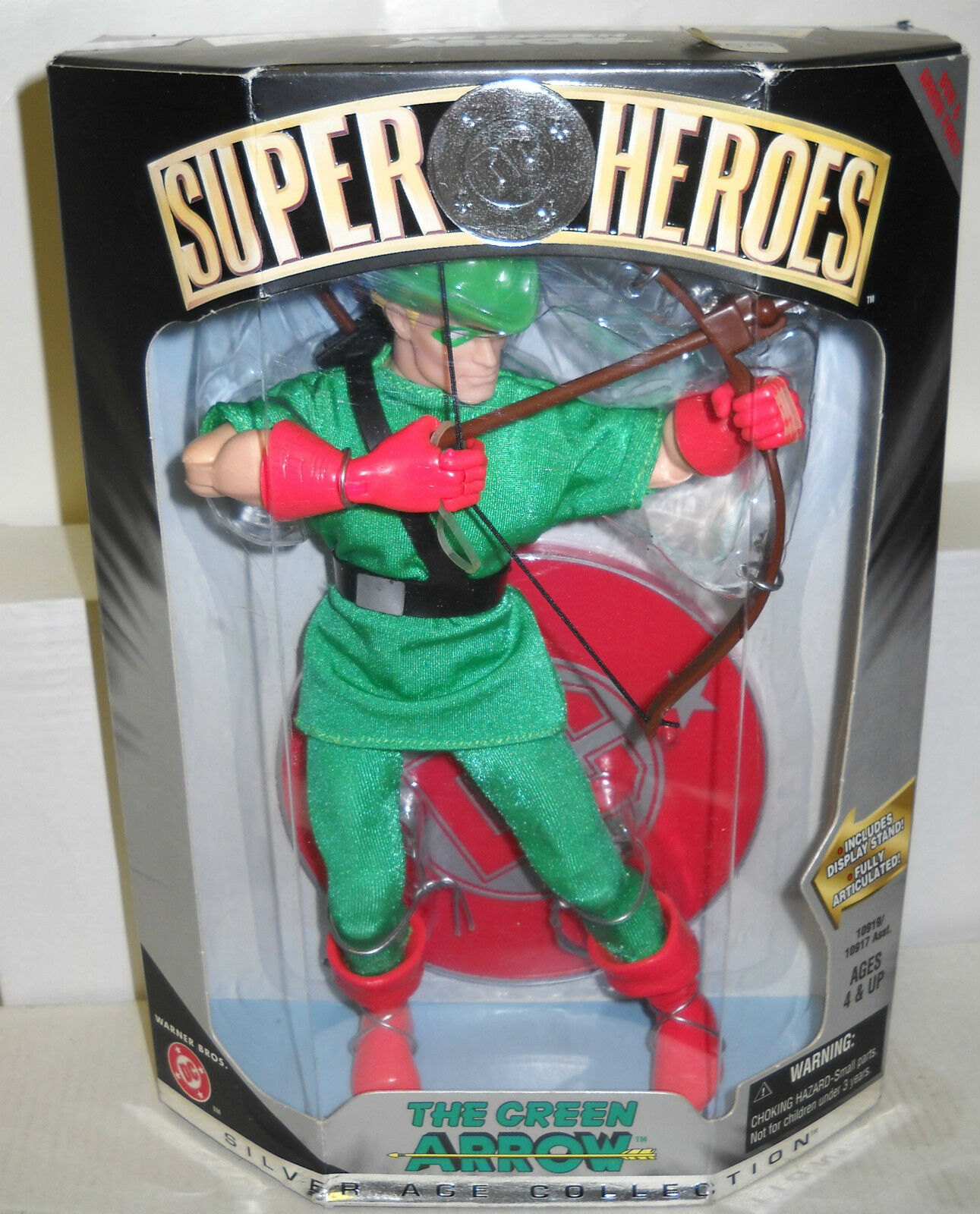 NRFB DC Heroes the Green Arrow 9  Action Figure