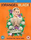 Orange Is The Black Complete Collection Season 1 2 3 BLURAY Series BOXSET UK
