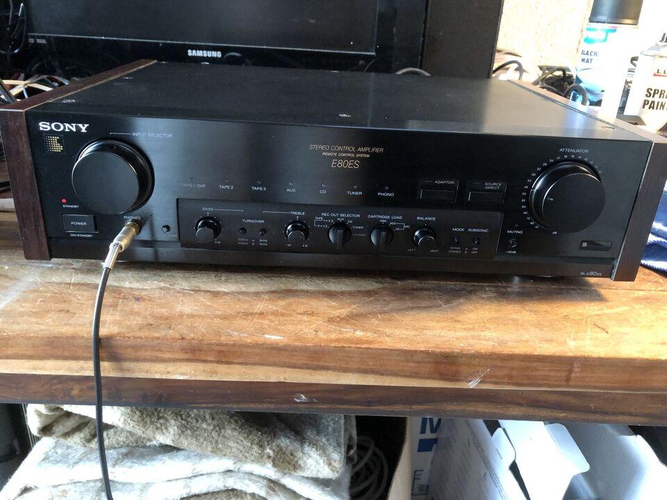 Forforstærker, Sony, TA-E80ES