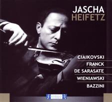 Heifetz Jascha-Ciaikovski - Franck - De Sarasate - Wieniawski Bazzini  CD NEW