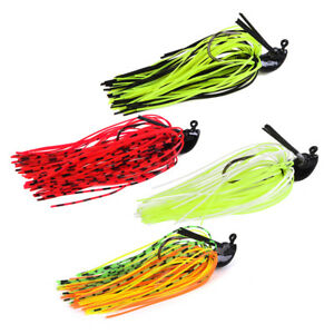 10Pcs Spinner Blades Smooth Spoons Rigs Spinners Fishing Bait Spinnerbait