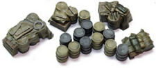 1/72 scale 720DG German Fuel Drums (16 Pieces) WW2 Diorama accessory