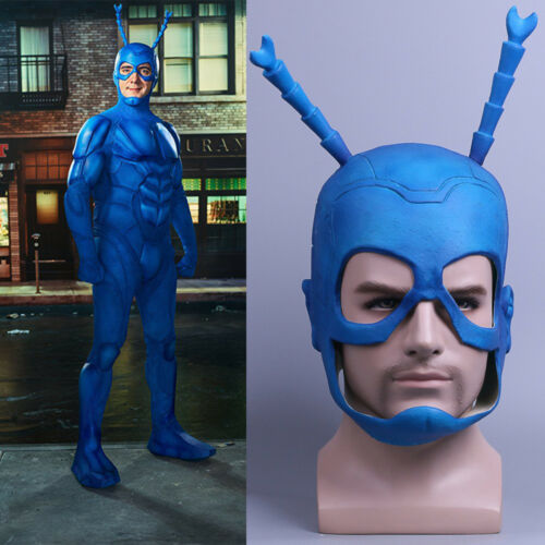 2017 TV The Tick Mask Cosplay Tick Mask Halloween Helmet Handmade Latex Mask New