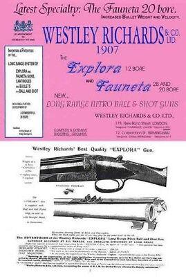 Westley Richards /& Co 1986 Gun Catalog