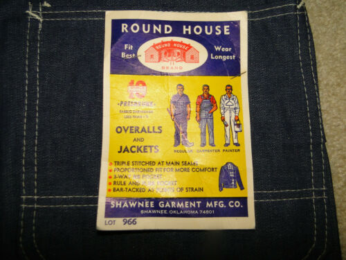Deadstock Vintage 1940's Roundhouse Denim Jeans B
