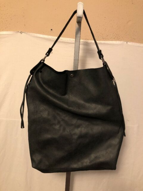 cb1306f9a5 Gianni Notaro Made In Italy Leather Black With Wallet XL Hobo