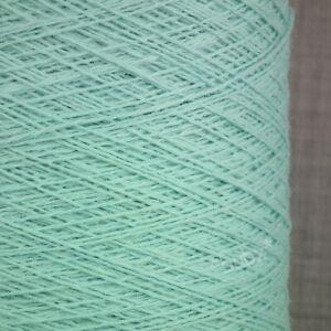 Geelongora Angora Geelong Lana Hilo 250g Cono 5 bolas natural 1 capas Tejer ZHS